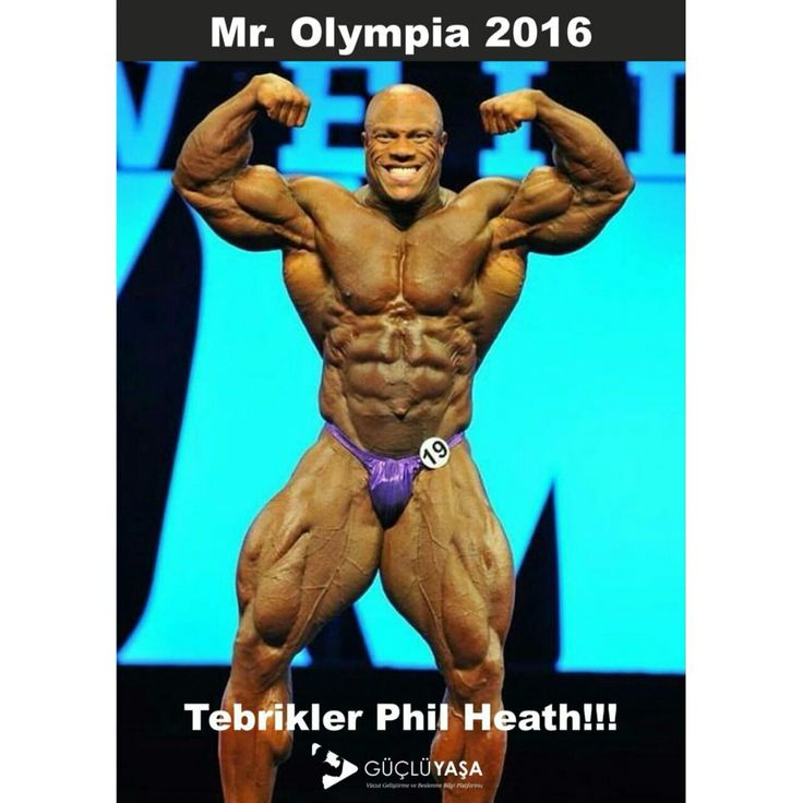 Tebrikler Phil Heath!!! Mr. Olympia 2016👣💪🏼🔝🏋🏼  #vücutgeliştirme #bodybuilding #egzersiz #gymmotivation #fitness #kas #gym #motivasyon #spor #antrenman #idman #muscle #vücut #philheath #mrolympia2016 #halter #yaşam #strength #türkiye #güçlüyaşa gucluyasa.com