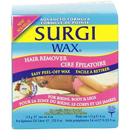 Surgi-Care Surgi-Wax Hair Remover for Bikini, Body & Legs - 4 oz