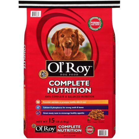 Ol' Roy Complete Nutrition Dry Dog Food, 15 lb