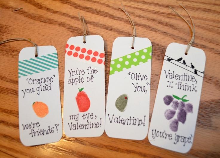 One Artsy Mama: Valentine Bookmarks
