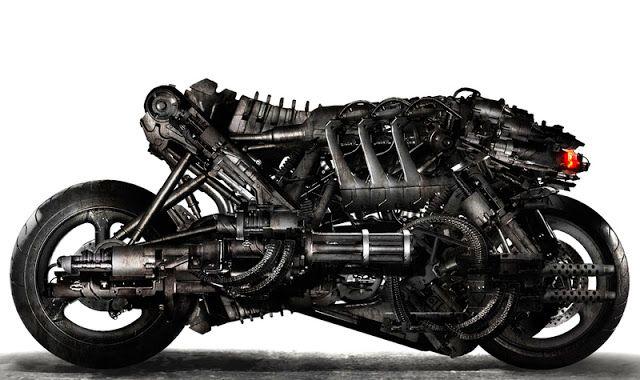 As motos do Exterminador do Futuro | Old Dog Cycles