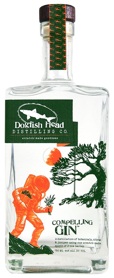 Dogfish Distilling Co. Compelling Gin