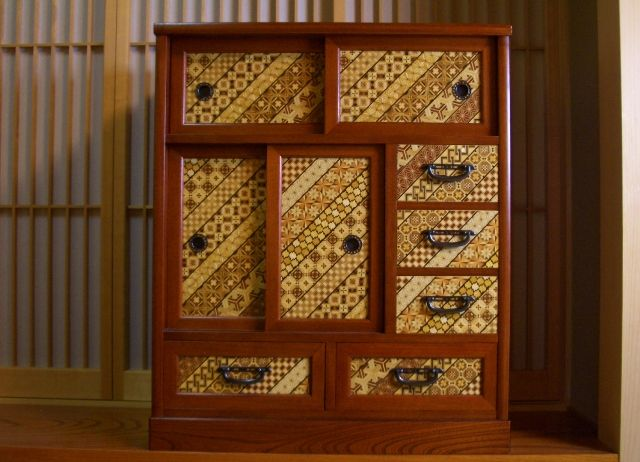 This amazing Yosegi Trick Chest has FIVE secret spaces!  It is much larger than most pieces we stock.  #TrickChest #PuzzleBoxWorld #Yosegi #Magic #Inlay #Secret