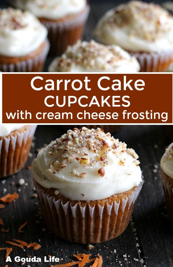 Simple Step By Step Recipe Carrot Cake Cupcakes With Cream Cheese