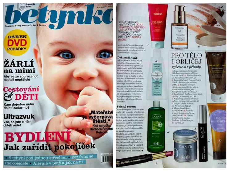 Betynka 10/2014 make-up + Šampon