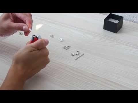 Návod na výrobu vlastního šperku I - síťované dutinky - YouTube