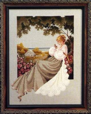 Nantucket Rose by Lavender and Lace - Cross Stitch Kits & Patterns