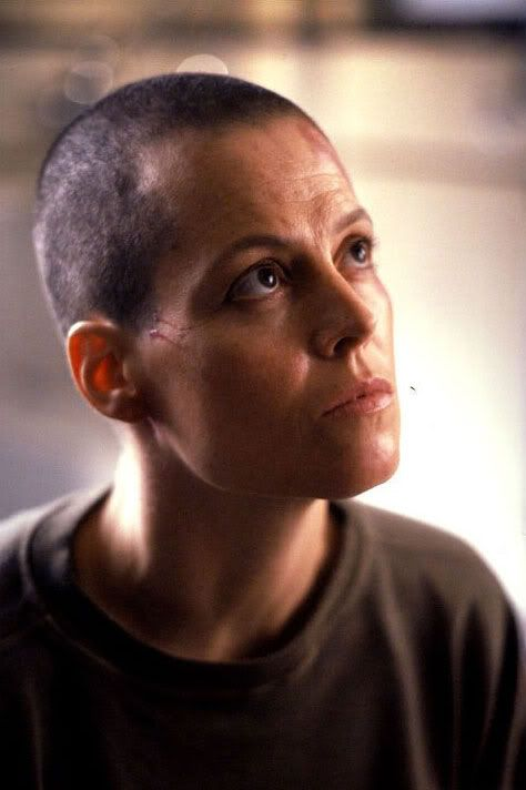 Sigourney Weaver in Alien 3, 1992
