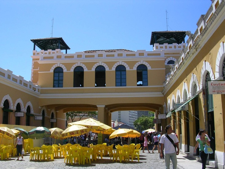 Public Market in Florianópolis, Santa Catarina, Brazil.