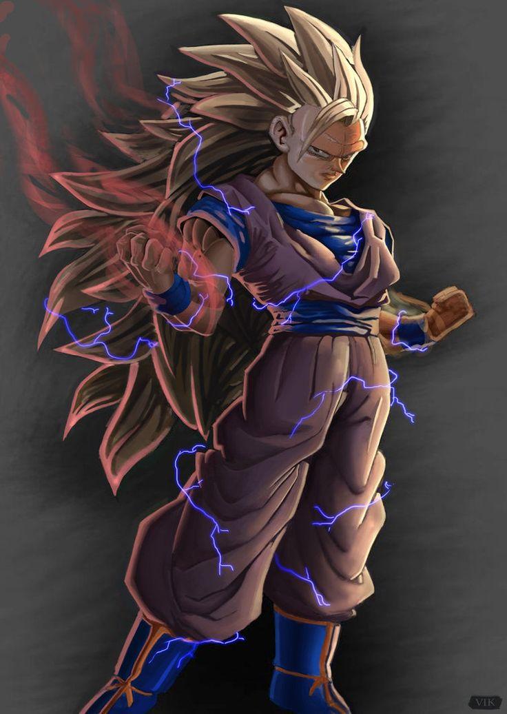 Goku SSJ3 by Paganflow