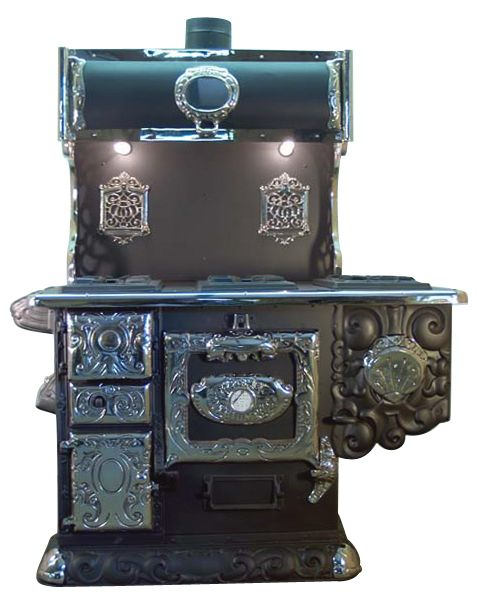 All Cook Stoves for Sale : Acme Triumph Antique Kitchen Stove with Conversion