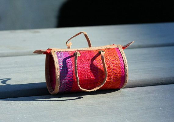 African Hand Made Mini Coin Purse Hessian by AfricanSensations, £4.49