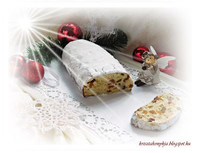 Kriszta konyhája- Sütni,főzni bárki tud!: Stollen ( paleo )