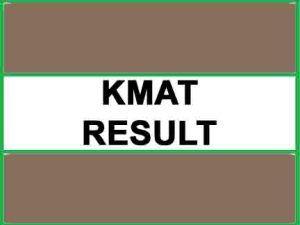 kmat result