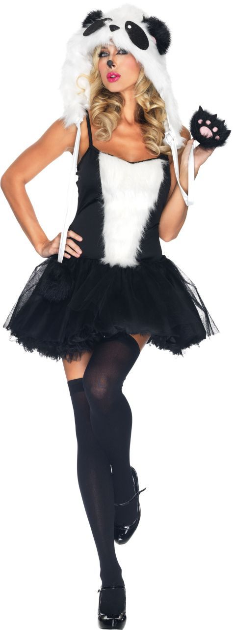 Playful Panda Costume for Women - Party City