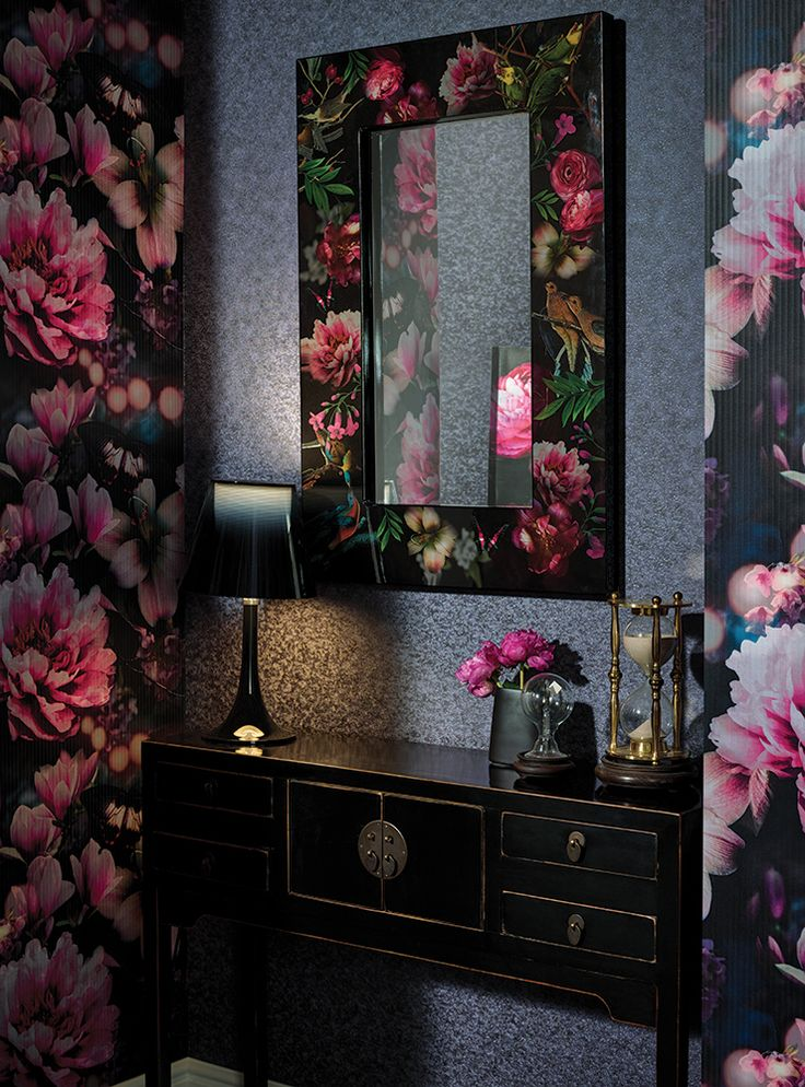 Arthouseu0027s Latest Eastern Alchemy Collection Is Packed With Intensely  Uplifting Floral Patterns Like Momoka. Oriental BedroomFloral ...
