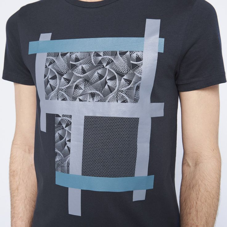 Tee shirt manches courtes homme ville - image 3