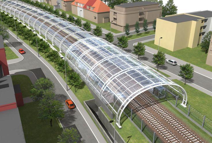 Rychlodráha na Kladno by měla vést z Masarykova nádraží přes Bubny, Stromovku a... | na serveru Lidovky.cz | aktuální zprávy