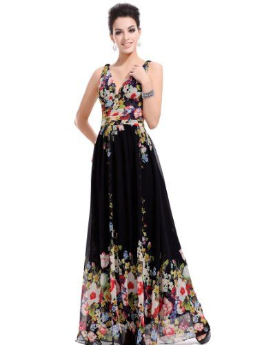 Ever Pretty Sexy Double V-neck Floral Printed Chiffon Evening Dress 09636, HE09636BK16, Multiple(black), 14US Ever-Pretty,http://www.amazon.com/dp/B006RB6FAK/ref=cm_sw_r_pi_dp_AxOttb11EJB20MRB
