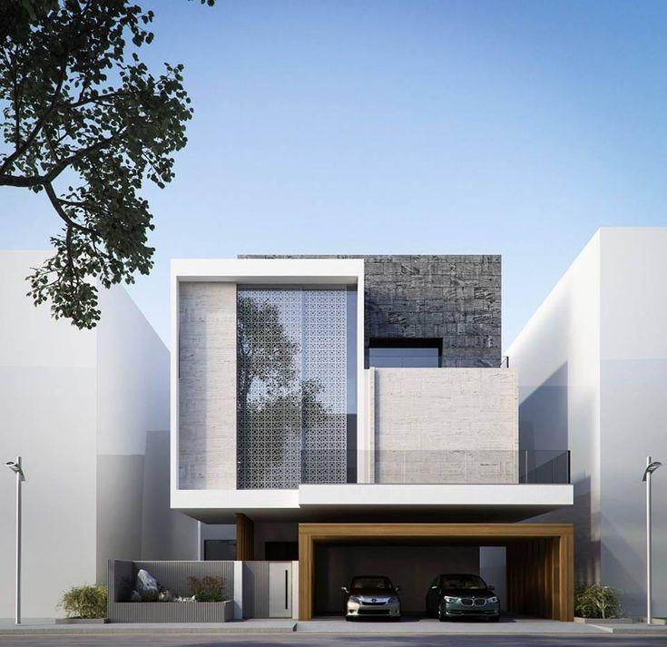 60+ minimalistische Hausfassaden: Models & Photos