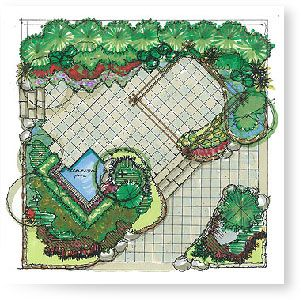 1000 images about landscape designs on pinterest for Landscape plan drawing