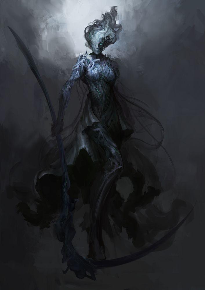 [Fantasy] - [digitalart/paintings/fantasy] - Horseman of Death - by: theDURRRRIAN