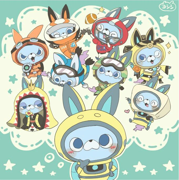 ೄ๑˚。 Usapyon Cute art, Youkai watch, Anime