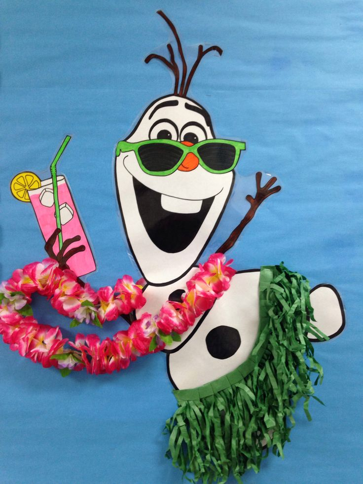 Summer Beach Bulletin Board ~ Stay Cool This Summer --- Frozen