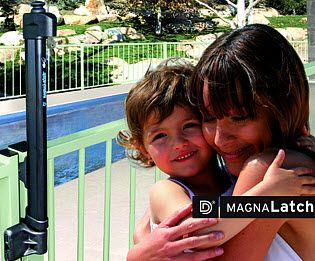 A Child Safety Gate Lock That Can Be Installed On All Of