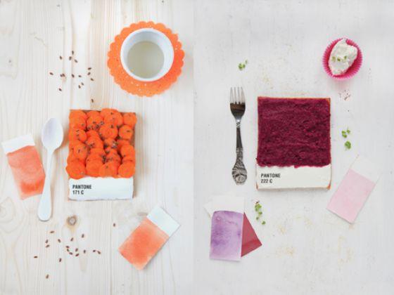 Pantone Tarts |  Emily Griottes