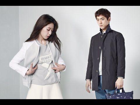 Park Shin Hye and Sunh Joon at Mind Bridge Spring Summer 2015