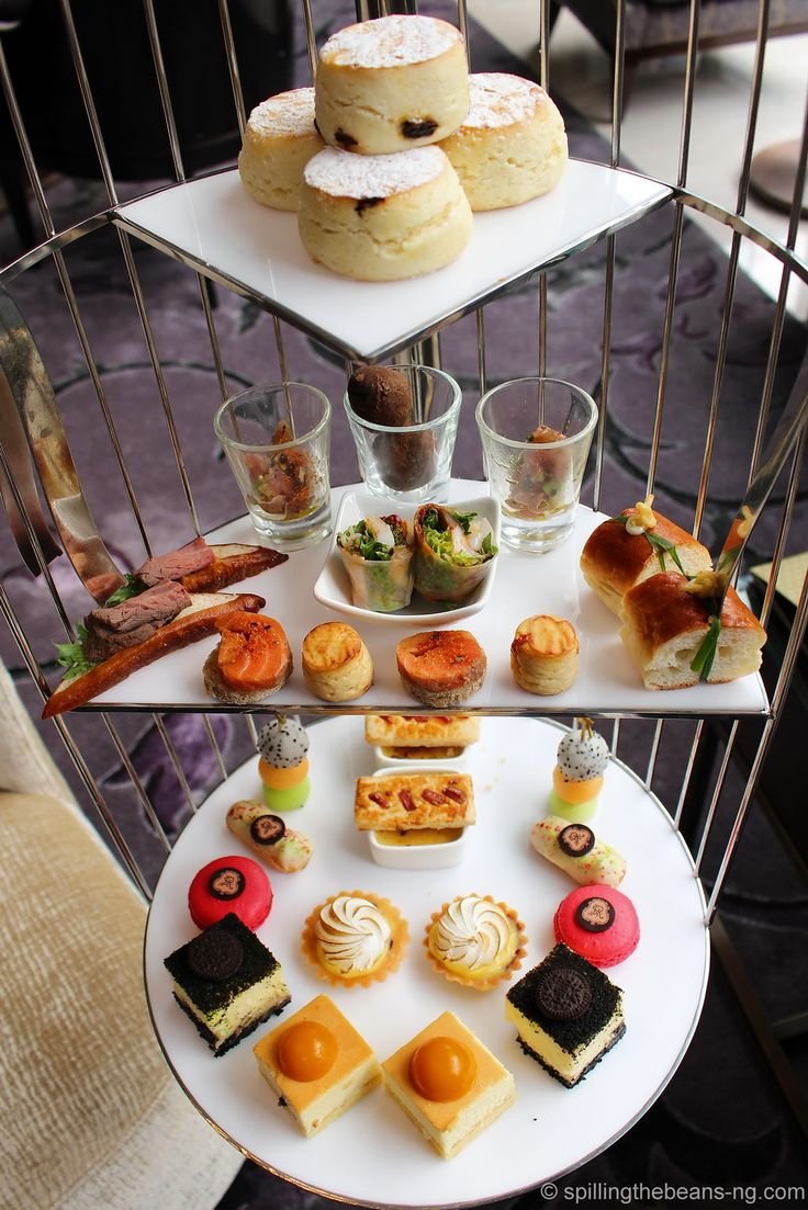 Afternoon tea at the Lounge, St. Regis Bangkok.