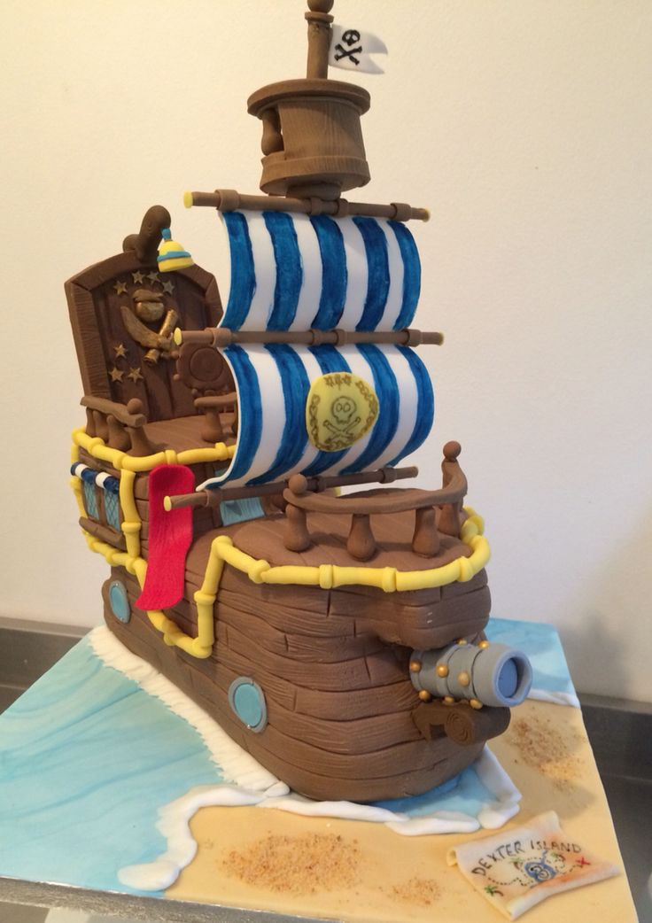 jake and the neverland pirate cake pirate birthday cake pirate bday ...