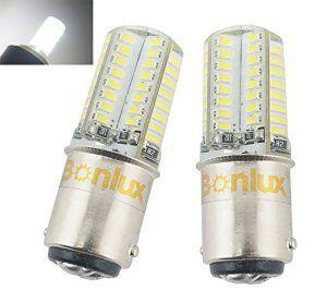 Bonlux 1157 BA15D LED 12 V de voiture lumière 3 Watts enduit de Silicone Auto LED voiture ampoule 10 – 18 V 3014SMD Tail tournez Signal…
