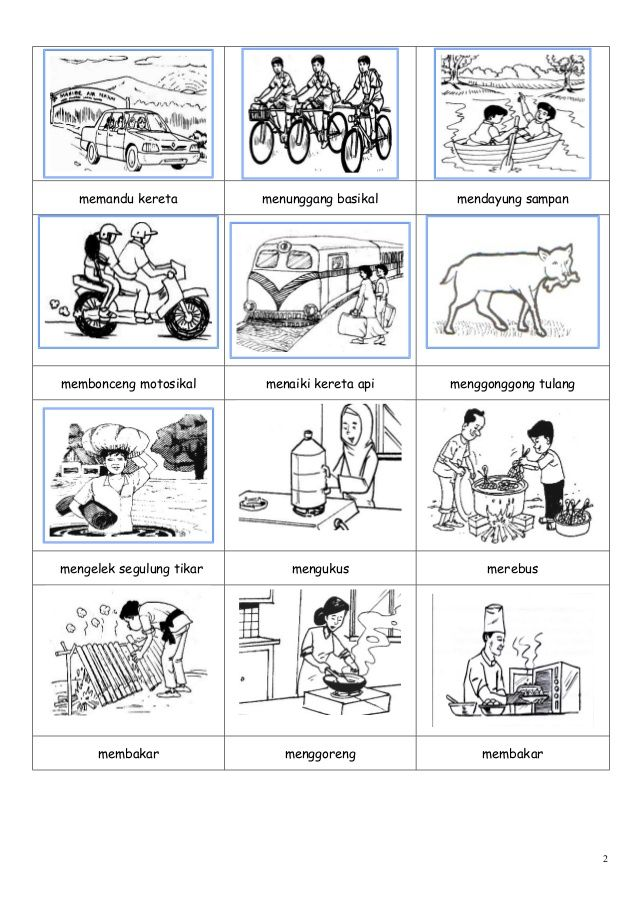 Gambar kosa kata worksheets for kindergarten Pinterest