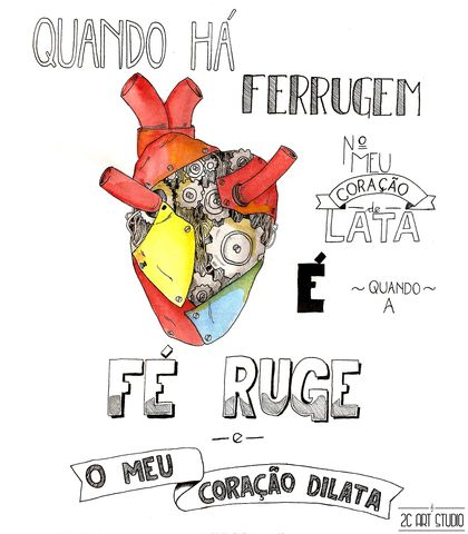 Quando a Fé Ruge - O Teatro Mágico (Composição: Fernando Anitelli)