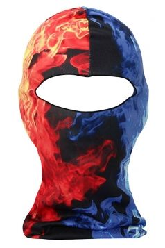 Blue #Animal Printed Covered Half Face #Ski #Mask