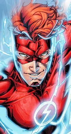 Kid Flash in Titans #1 - Brett Booth