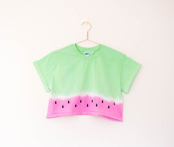 Watermelon Crop Top S/M/L/XL