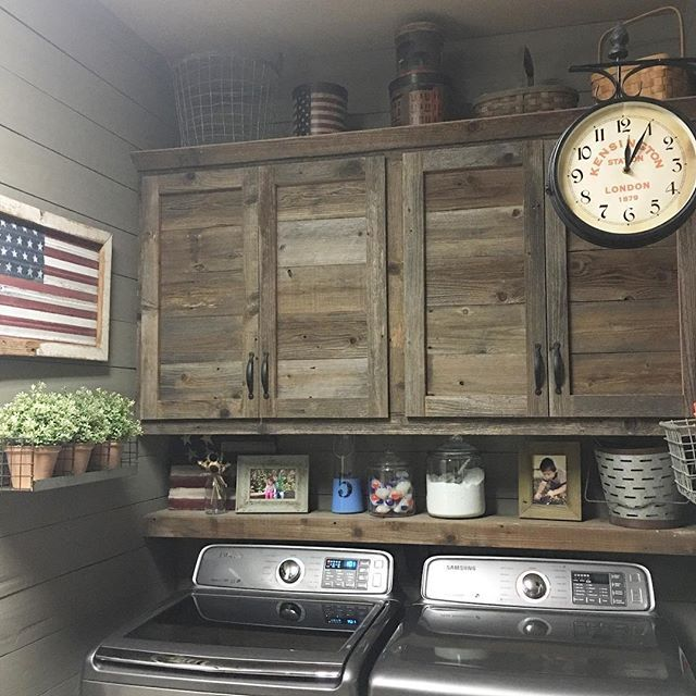 Laundry Room Cabinet Ideas best 25+ rustic laundry rooms ideas on pinterest | farmhouse