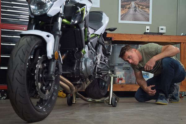 Are your motorcycle's wheels tracking true? We'll show you how to check your alignment in this video from the MC Garage.