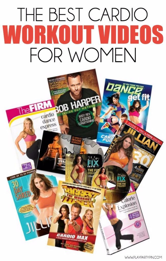 A list of the best workout DVDs and workout videos, especially for women!