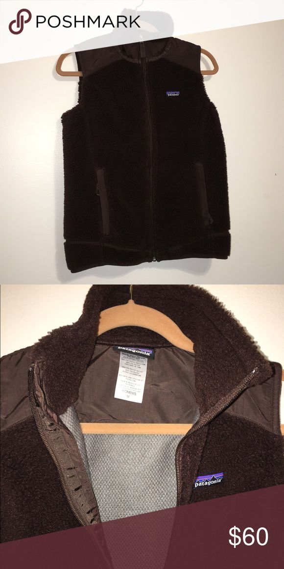 Brand new Patagonia furry brown vest Brand new, never worn Patagonia fuzzy brown vest. No tags. No matting, tears, stains, etc. because it has never been worn. Patagonia Jackets & Coats Vests