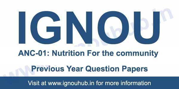 Ignou Anc 1 Question Paper This Or That Questions Question