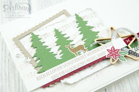 Stampin' Up!  - Artisan Design Team - Like a Christmas - Frmelitsformen Festtagsdesign - Acessoires Hearts & Stars - 2