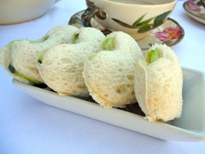 Whimsy and Cute Tea Party Ideas'  Finger sandwiches