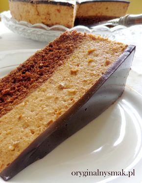 Ciasto czekoladowe z musem śliwkowo-migdałowym