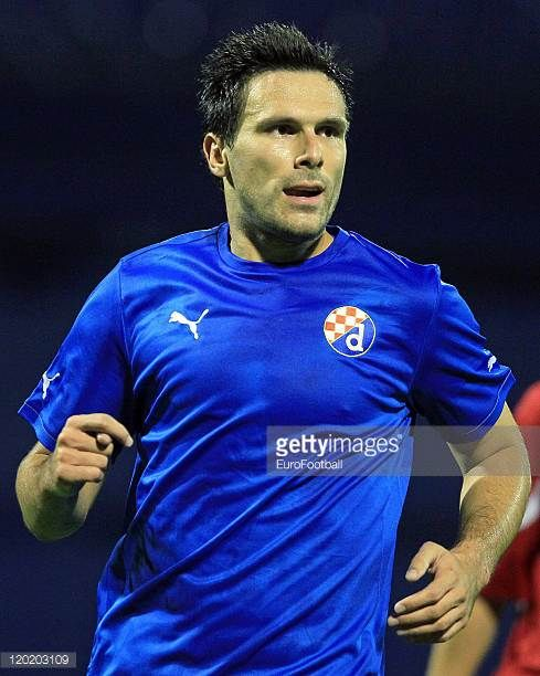 Jerko Leko of Dinamo Zagreb in action during the Croatian Prva HNL match between NK Dinamo Zagreb and HNK Cibalia on July 302011 at the Stadion...