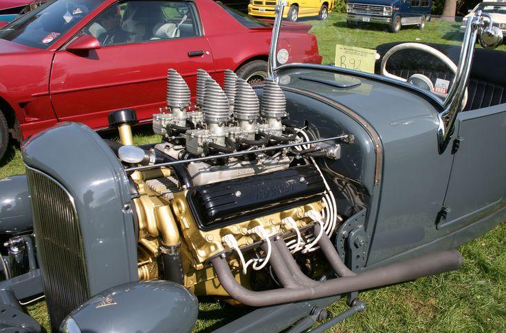 D Ef F Bd F D B B Rockets Rat Rods on Old Oldsmobile 350 Rocket Engine