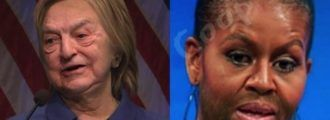SHOCKING PICS: Hillary's AGED Drastically And MO's STOPPED Shaving After Trump Victory
